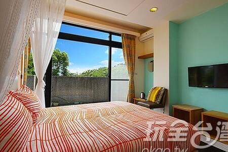 STILL TRUE B&B 初心旅行農莊 2 people room - Shigang District - Szoba reggelivel