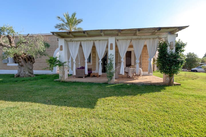 559 House with Garden in aResidence - Morciano di Leuca - Casa