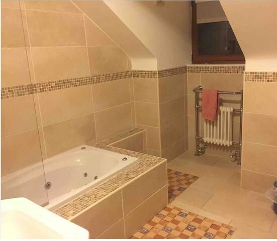 Large private dedicated bathroom