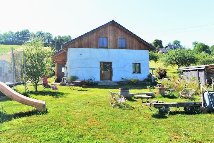 "Holidays at ""Three little pigs"" home - Saint-Pierre-Roche - Hus"
