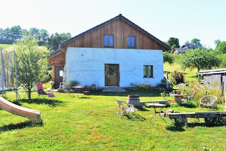 "Holidays at ""Three little pigs"" home - Saint-Pierre-Roche - Talo"