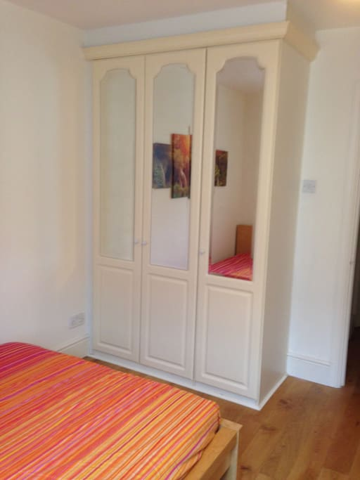 Fitted wardrobe, plenty of space to hang your clothes