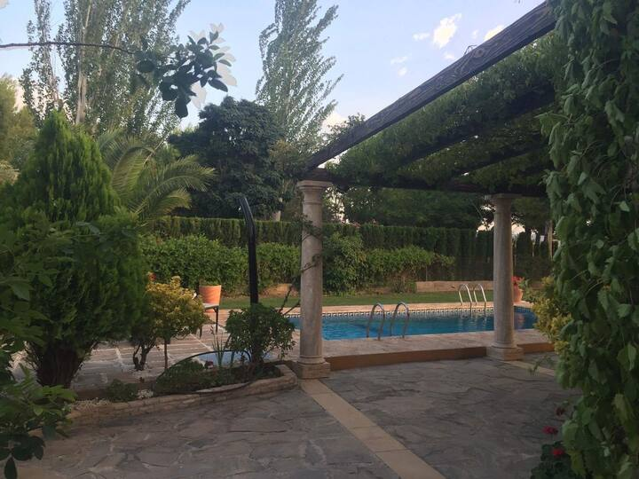 Cortijo Andaluz con piscina