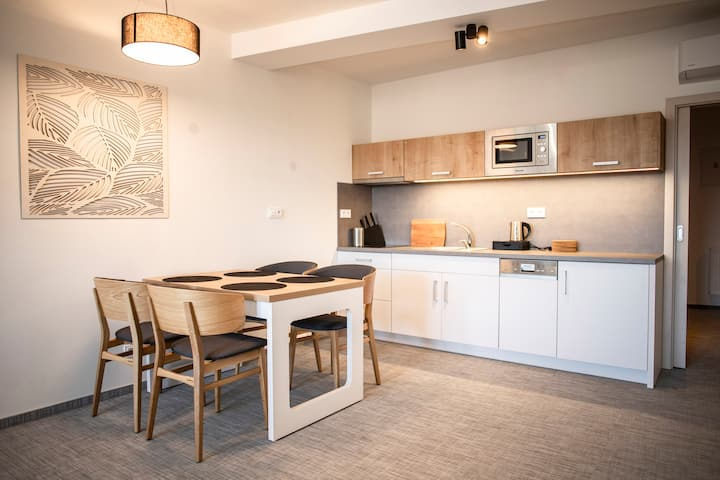 Mezonetový byt pro 4 osoby