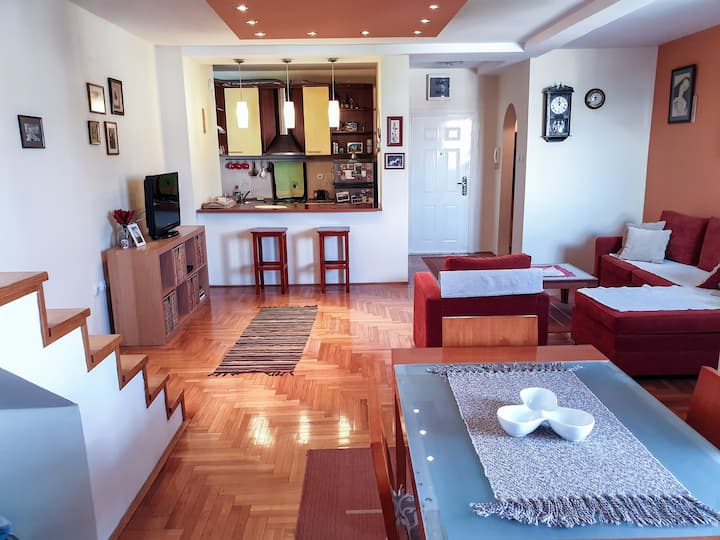 Comfy apartment near centar/Parking place provided