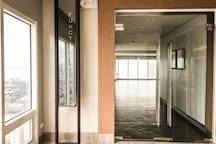Function room entrance