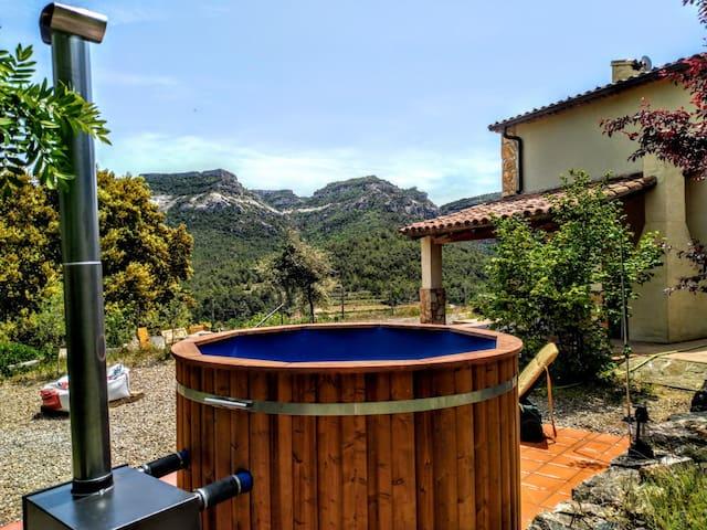 Casa con criterios bioclimaticos en Capafonts