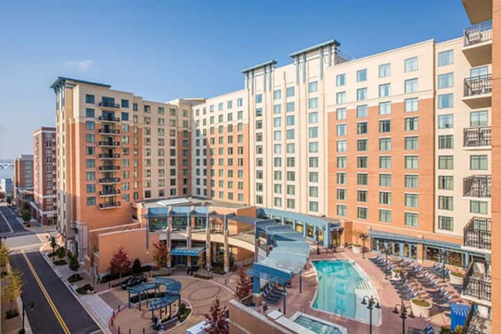 Wyndham National Harbor 2 BDR, near Gaylord & DC