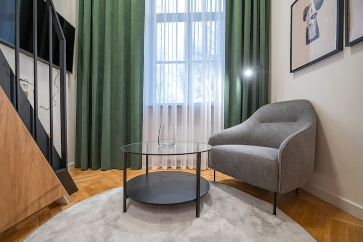 """,,Ministerija apartments"""" newly furnished loft"""