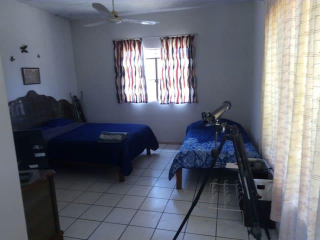 Habitación privada, amplia y cómoda - Mezcales - Casa