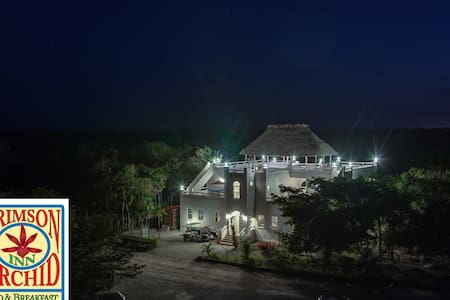 The Crimson Orchid Inn, Orchid Bay - Corozal, Belize - Pousada