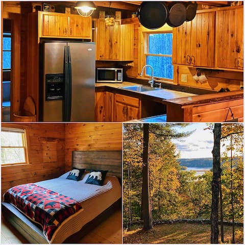 Cabin in the woods with Views of Lake Bomoseen