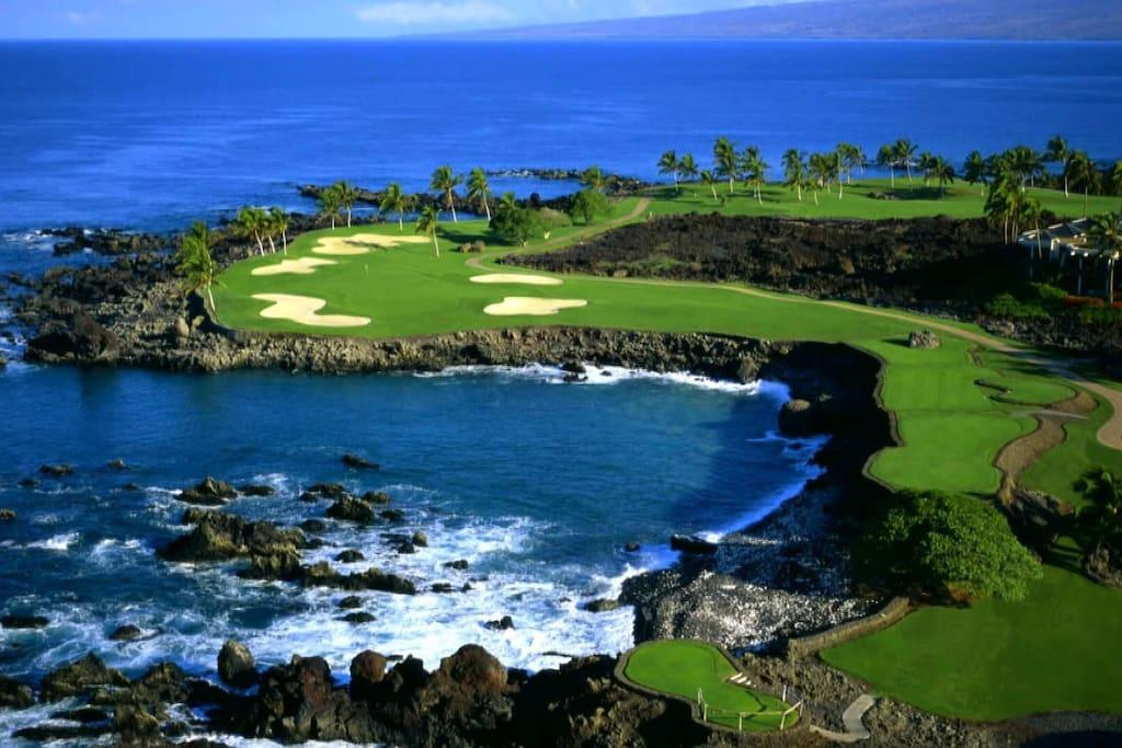 Hawaii's premier golf courses!