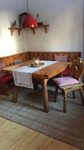 Gemütliche Wohnung in den Bergen - Döllach - Leilighet