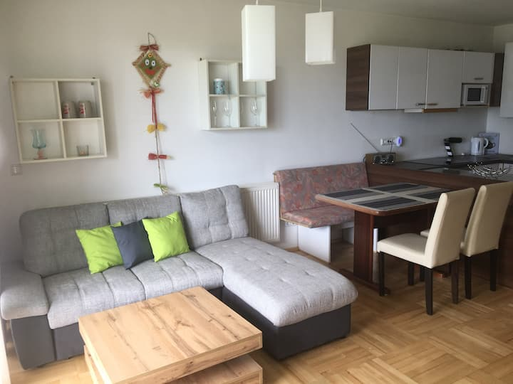 Apartment mit Balkon 68 m2
