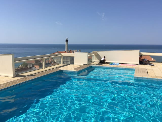 Lovely flat + Private swimming pool - Biarritz - Apartment