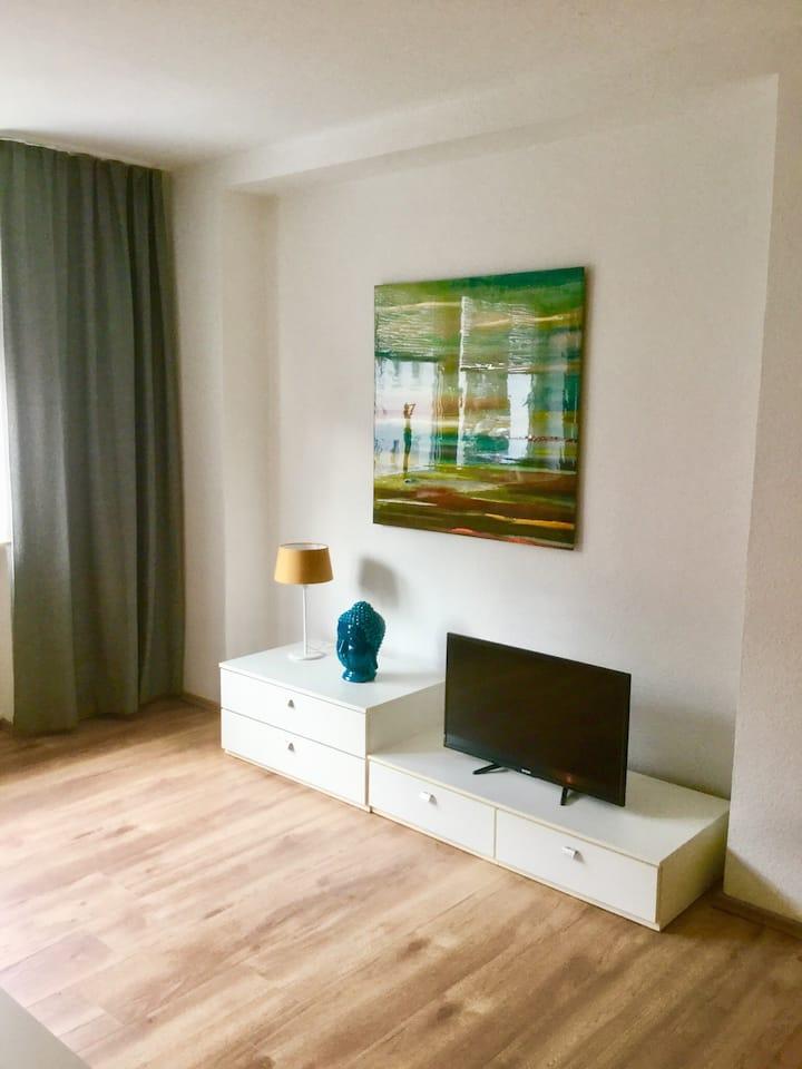 Moderne 70qm große Wohnung im Essener Südviertel