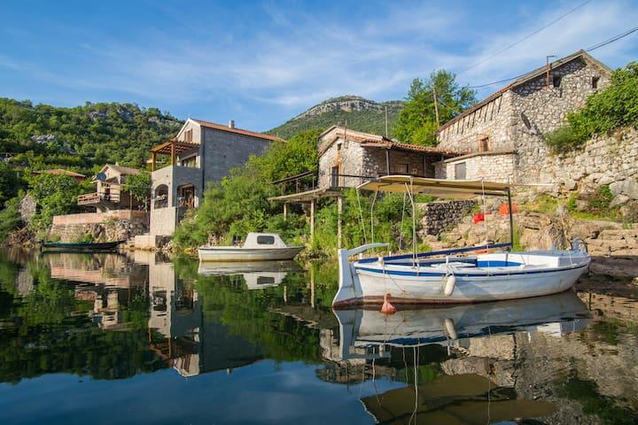 """""""Paradise Lake House"""" at National Park Skadar Lake"""