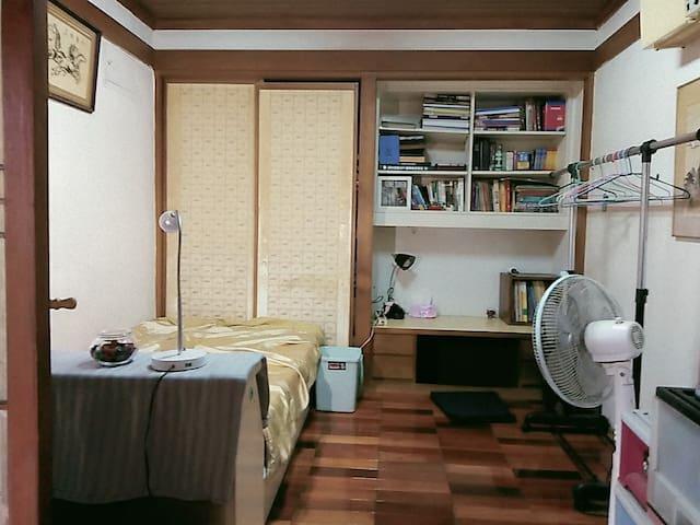 single room, warm and nice people!