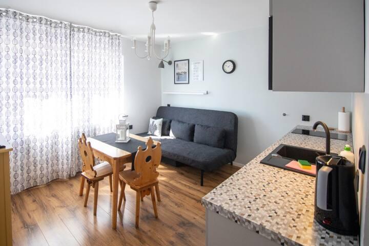 Apartamenty 5 Wierchów - dwuosobowe studio