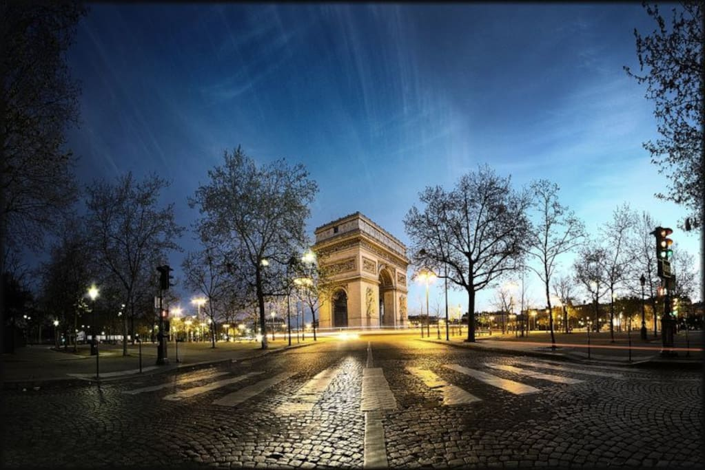 Arc de Triomphe (Etoile)