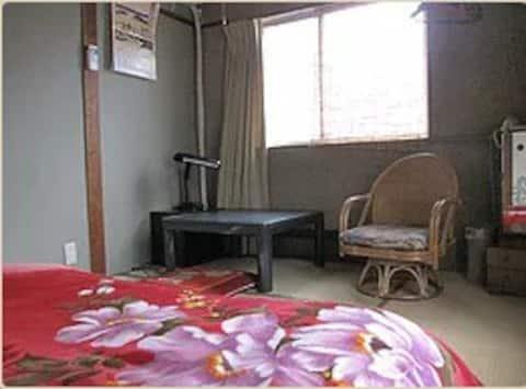 nakazonoryokan Room 208 or 201 ; only 1 person