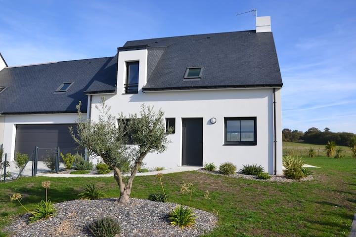 Maison neuve 4 ch proche plage & Guérande