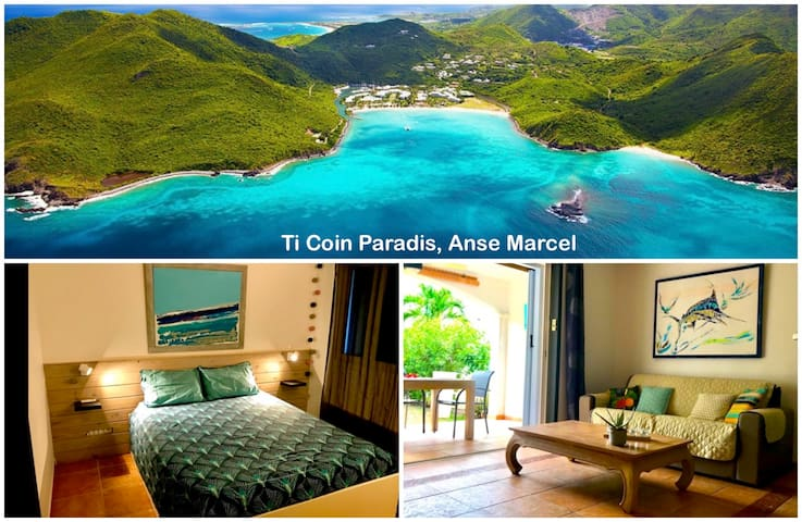Caribbean Condo in Anse Marcel, brand new