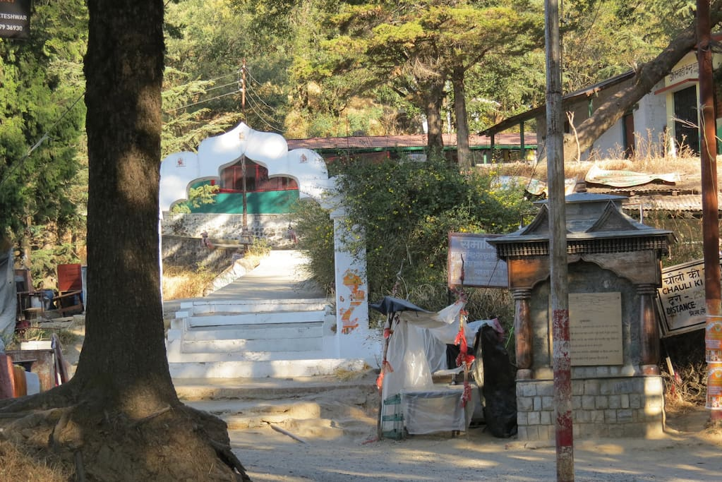 350 year old mukteshwar temple - 6 kms from cottage