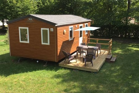 MOBILE HOME TOUT CONFORT AU BORD DU LAC