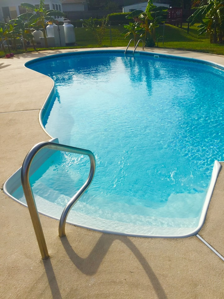 Fun at the Beach, Chill at the Pool, right off 98!