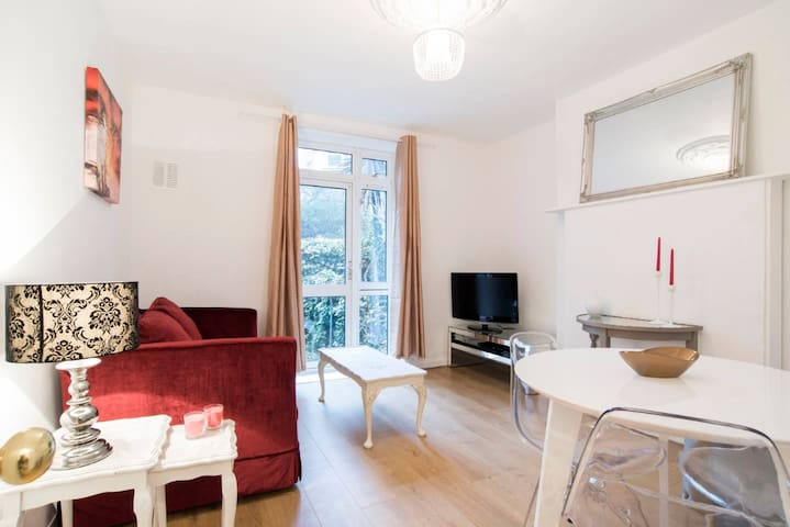 Charming and cosy flat near central London