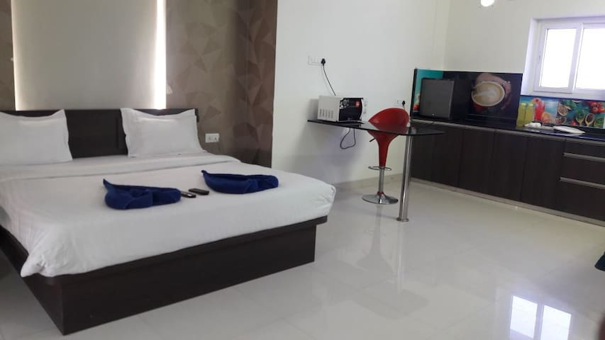 Studio Service Apartment furnished in kondapur