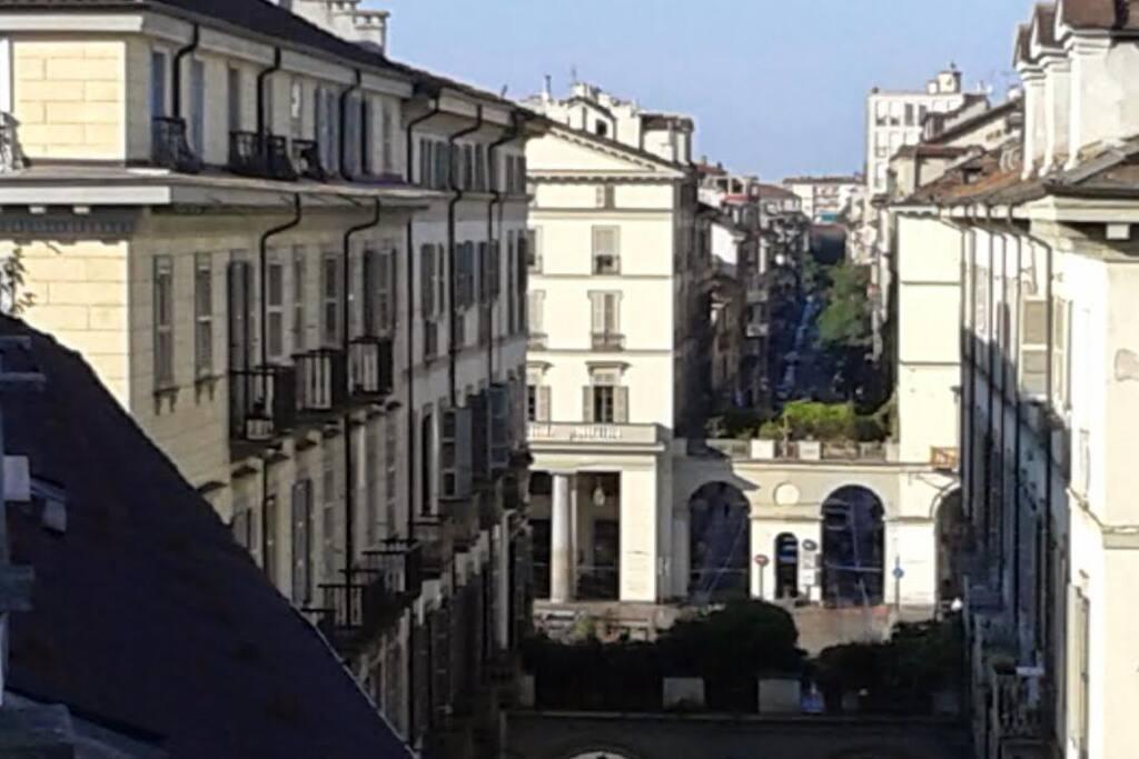 Vista Piazza Vittorio Veneto