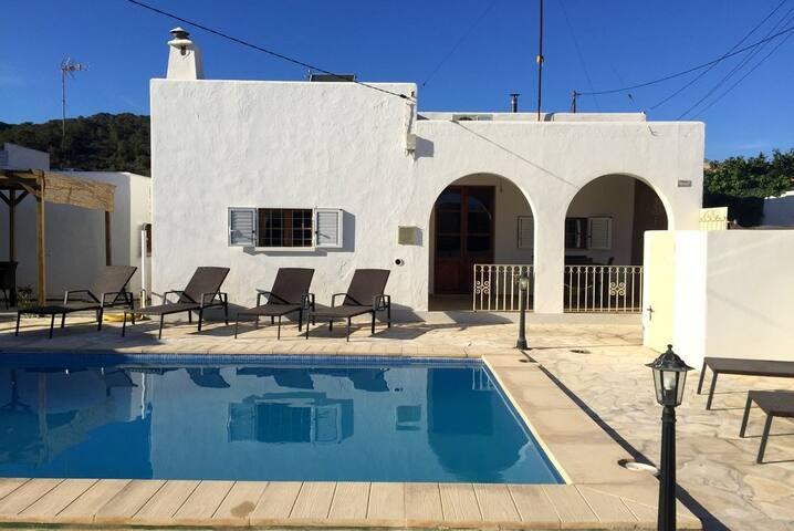 Casa Caleta with nice pool - Sant Josep de sa Talaia - Vila