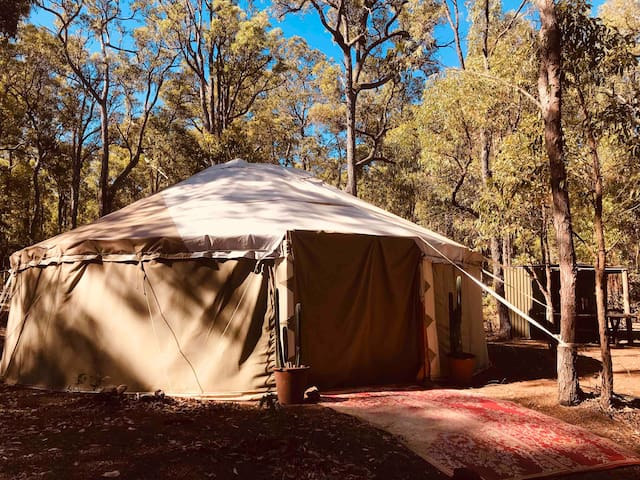 Big Sky Yurt ~ Bush Glamping Jarrahdale