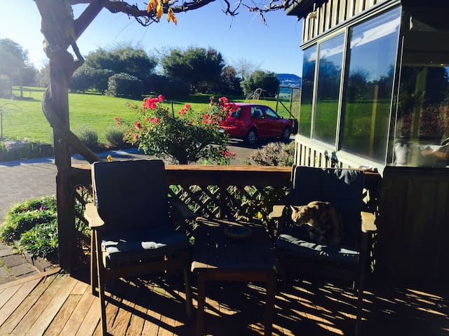 Outdoor Entertaining and parking