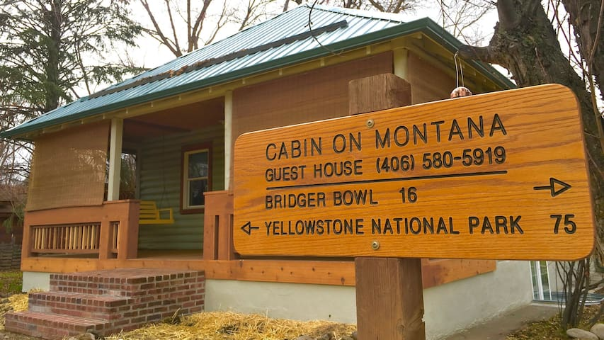 Cabin On Montana: Quiet, Clean, Downtown, Bozeman - Bozeman - Hus