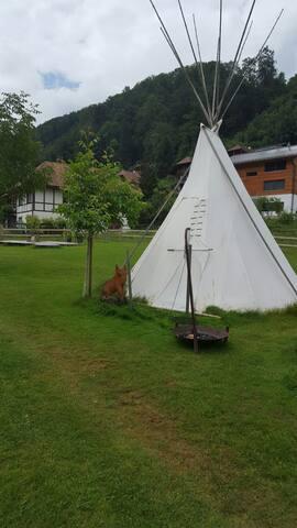 Gemütliches Tipizelt - Oberburg - Tipi