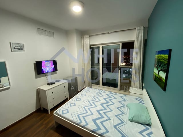 Master Bedroom with attached washroom & Balcony