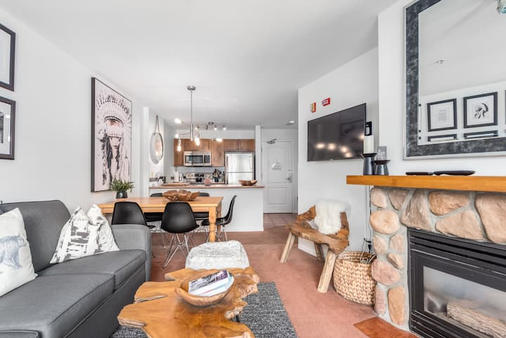 Sanctuary in the heart of Whistler Village