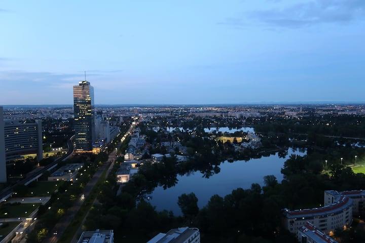 Hochhaus Neue Donau Top VIEW !