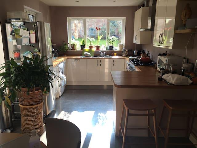 Beautiful double room in quiet home - Bristol