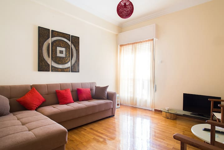 1 bedroom flat in central Athens