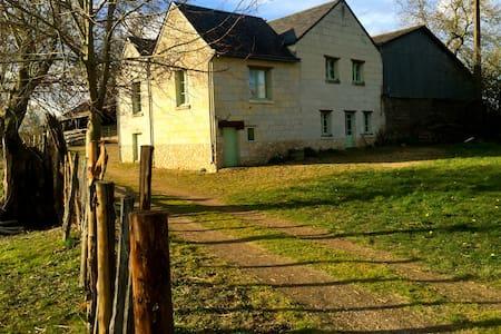Maison de nature 6 km de Saumur - Saint-Martin-de-la-Place - Casa