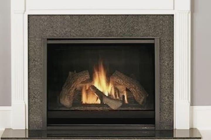 Apart with Fireplace - Cozy Bright -Dwntn Sleeps 4