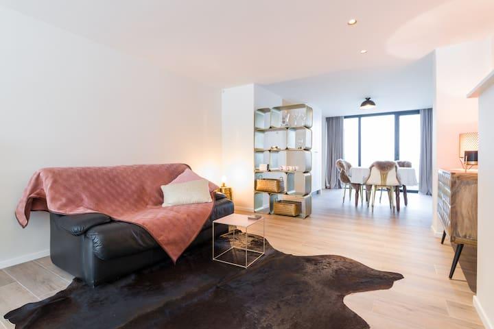 Luxurious duplex flat