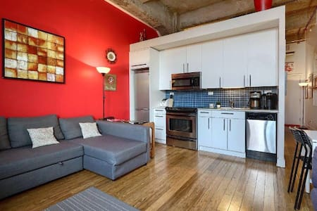 Trendy Elegant Downtown Loft Flat best location - Montréal