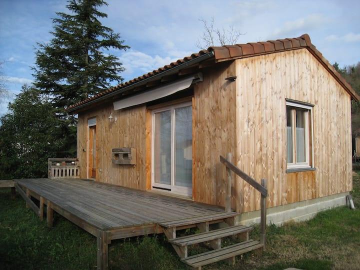 Maison bois et paille