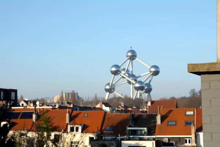 HEYZEL - Parc EXPO - LAEKEN - Duplex gde terrasse - Bruxelles - Appartement